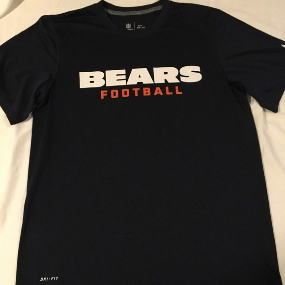 a3c426ce NFL On Field Apparel -Nike Dri Fit Chicago Bears